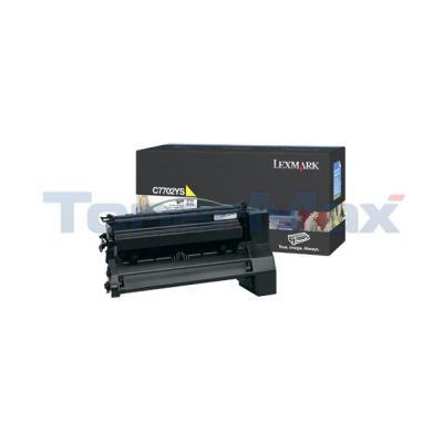 LEXMARK C770 PRINT CART YELLOW 6K